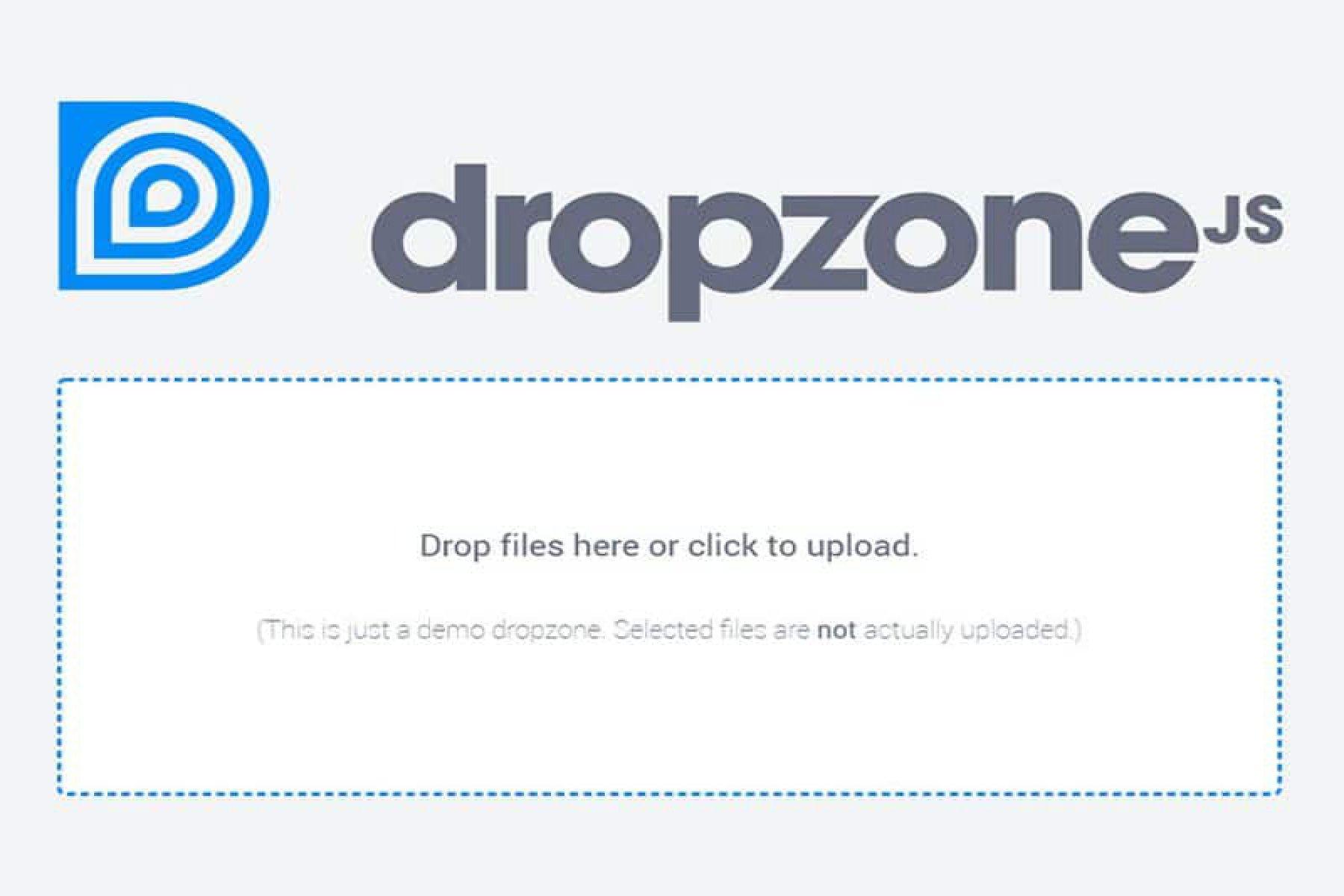 Dropzonejs nedir ve nasıl kullanılır?